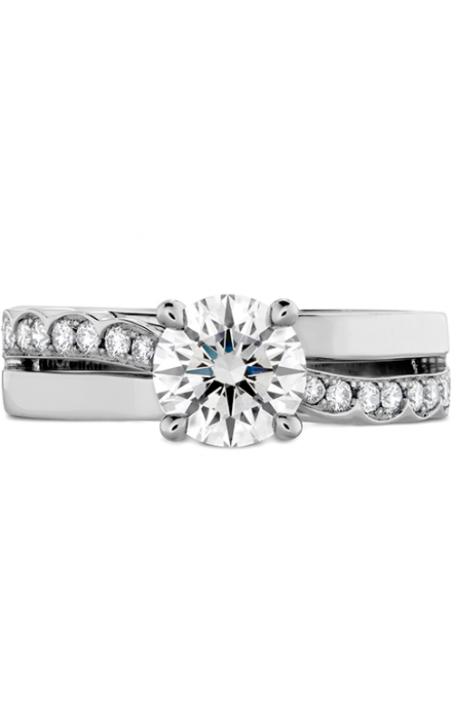 Lorelei Single Cross Over Engagement Ring product image