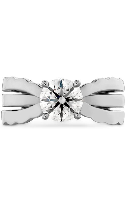 Lorelei Triple Row Solitaire Engagement Ring product image