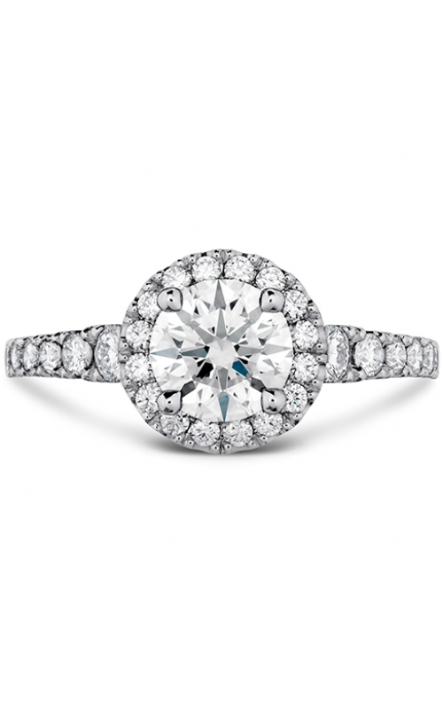 Transcend Premier HOF Halo Engagement Ring product image