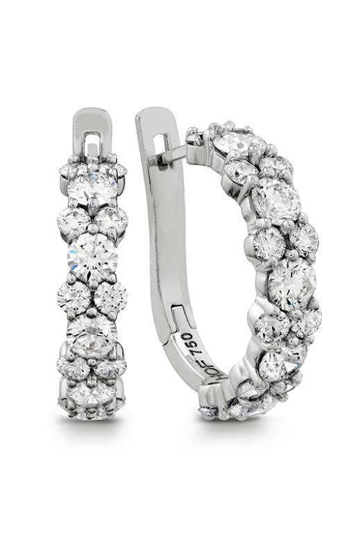 Gracious Diamond Hoop Earrings product image