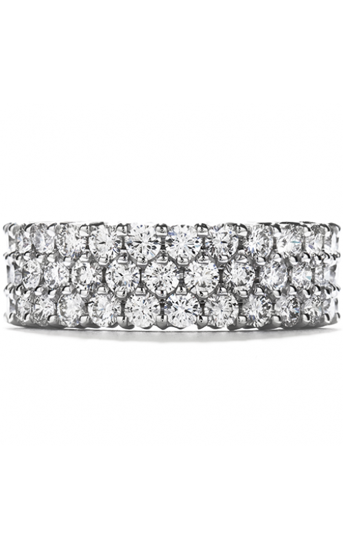 Right Hand Ring, Triple-Row Eternity Band product image