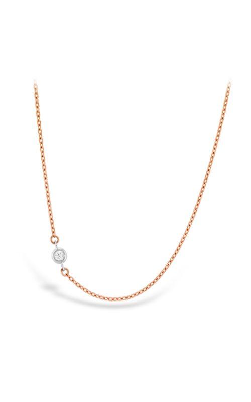 HOF Signature Off-Set Single Bezel Necklace HFN1BEZ0028RP product image