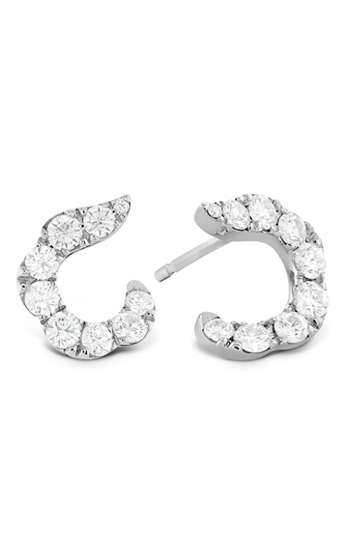 Lorelei Crescent Diamond Earrings product image