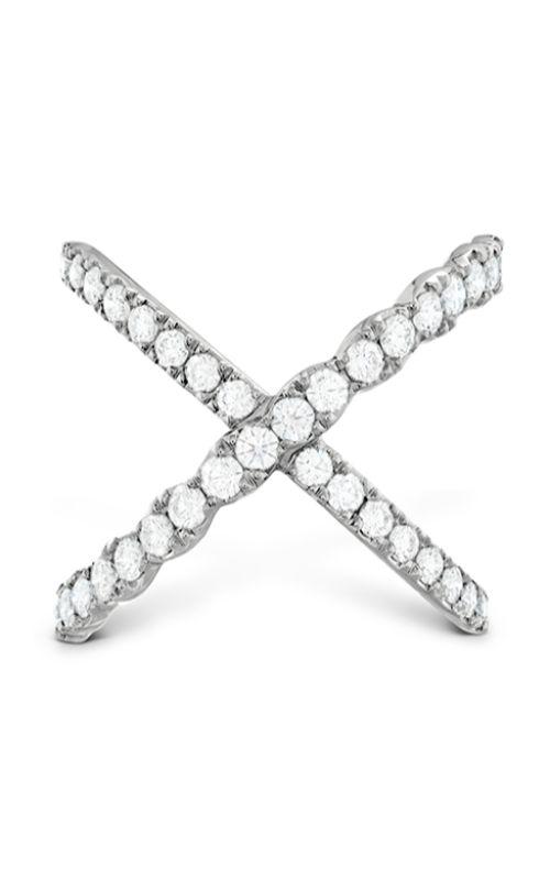 Lorelei Diamond Criss Cross Ring product image