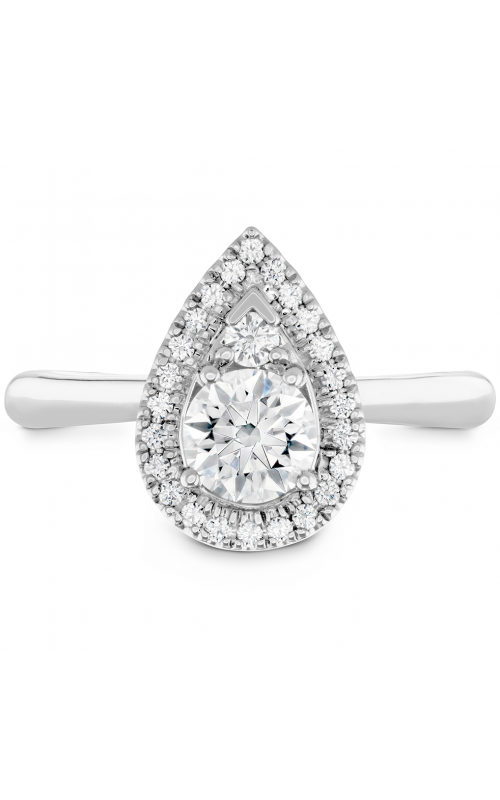 Destiny Teardrop Shape Halo Engagement Ring product image