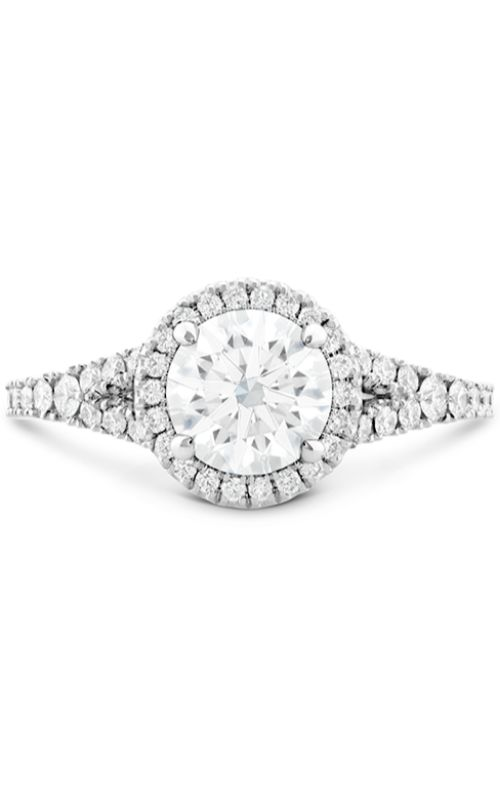 Transcend Premier HOF Halo Split Shank Engagement Ring product image