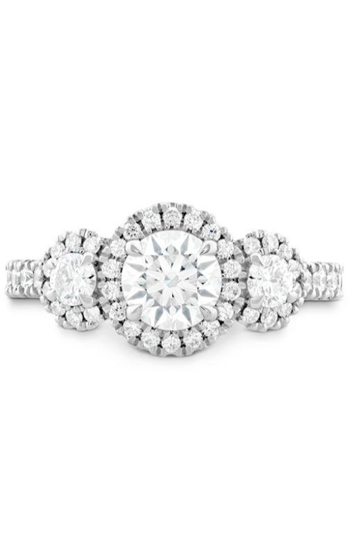 Integrity HOF Three Stone Engagement Ring product image