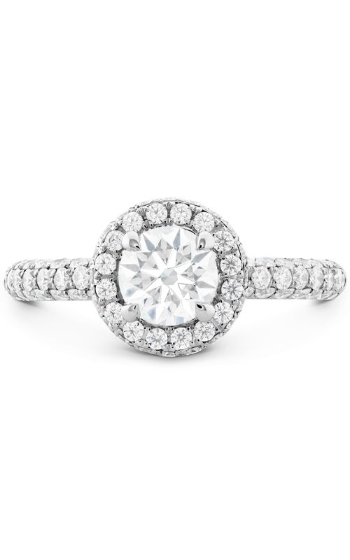 Euphoria Pave HOF Halo Engagement Ring product image