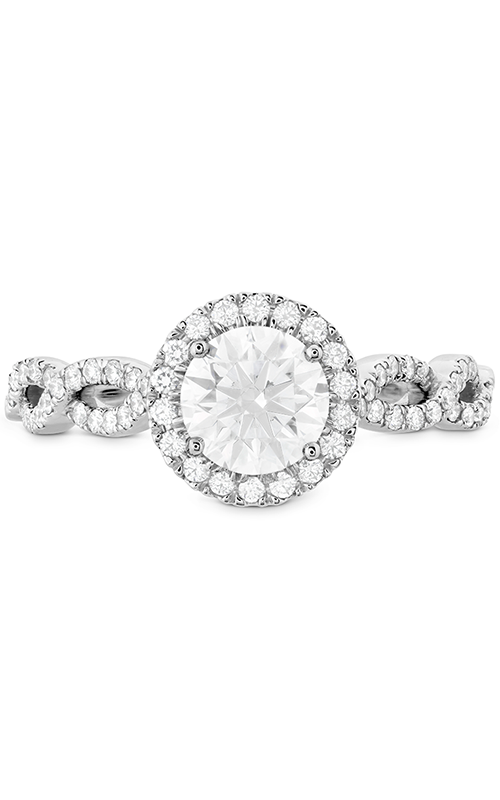 Destiny Lace HOF Halo Engagement Ring - Dia Intensive product image