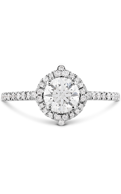 HOF Compass Halo Engagement Ring product image