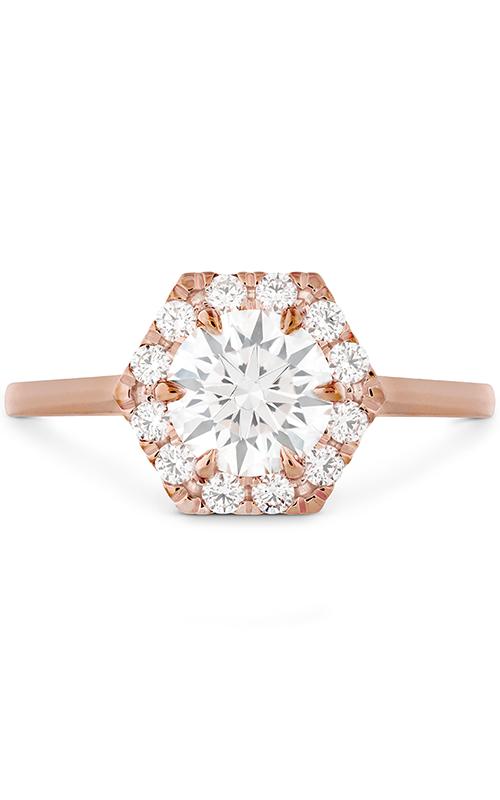 HOF Hexagonal Engagement Ring product image