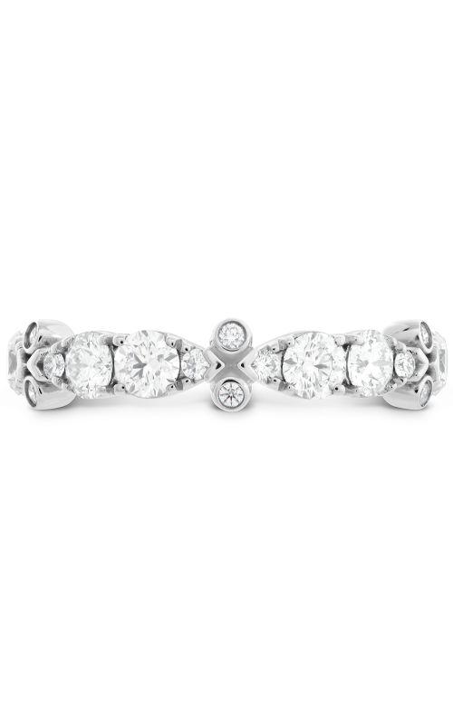 HOF Double Teardrop Bezel Diamond Band product image