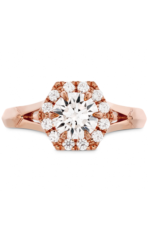 HOF Hexagonal Split Shank Engagement Ring product image