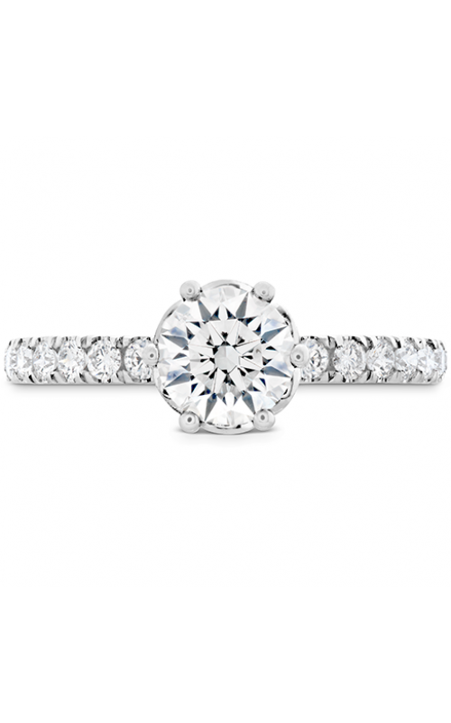 ff988b652 HOF Signature Bezel Basket Engagement Ring - Dia Band