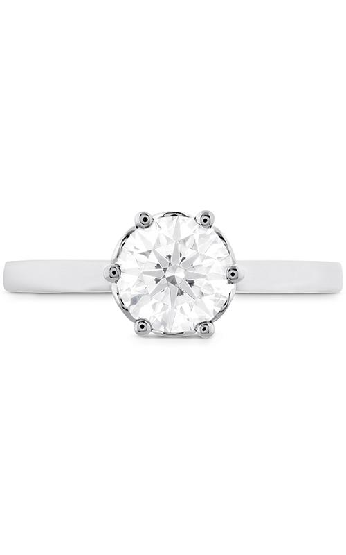 HOF Signature Bezel Basket Engagement Ring product image