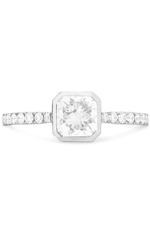 Deco Chic DRM Bezel Engagement Ring product image