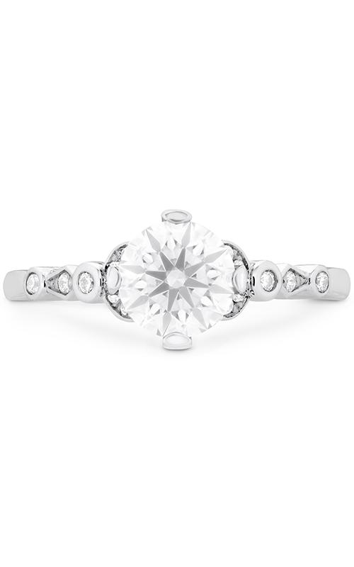 Cali Chic Double Petal Bezel Engagement Ring product image