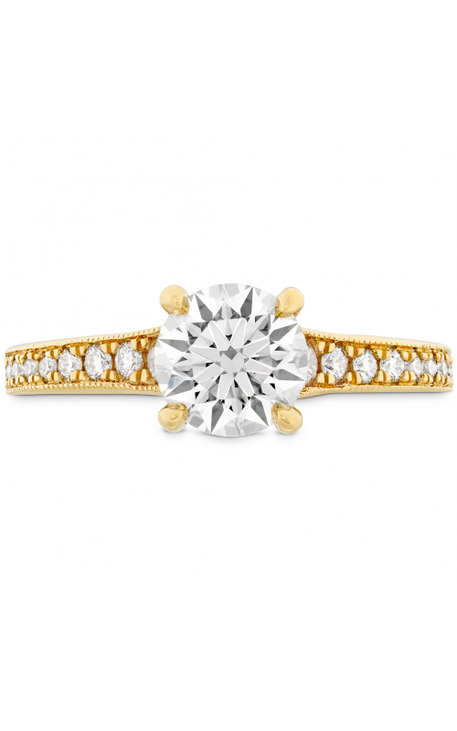 Liliana Milgrain Engagement Ring HBRDLILMG0055PLAA-C product image