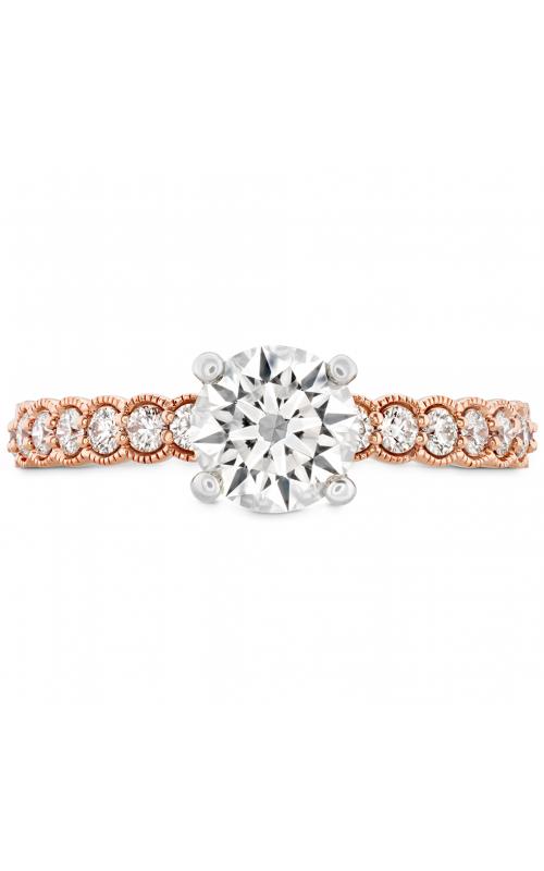Isabelle Milgrain Engagement Ring HBRISABML01158RPB-N product image