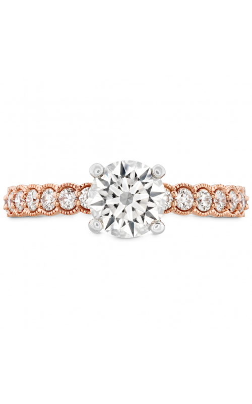 Isabelle Milgrain Engagement Ring HBRISABML01158WB-C product image