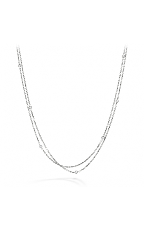HOF Double Chain Bezel Necklace product image