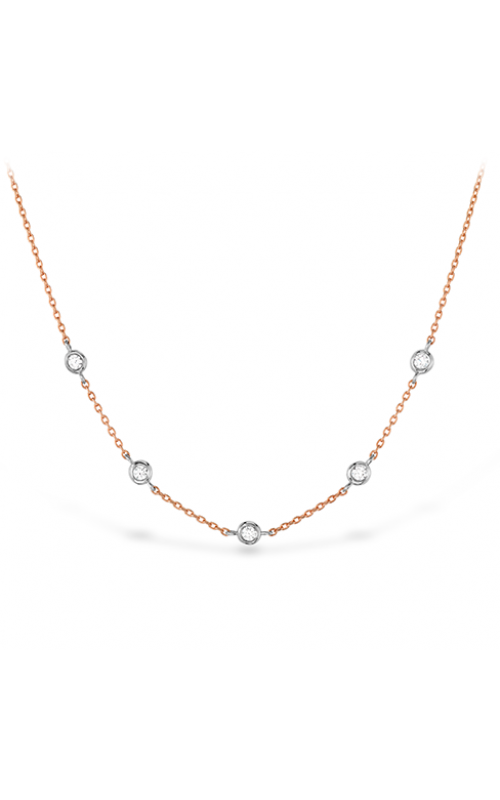 HOF Signature Off-Set Five Bezel Necklace product image