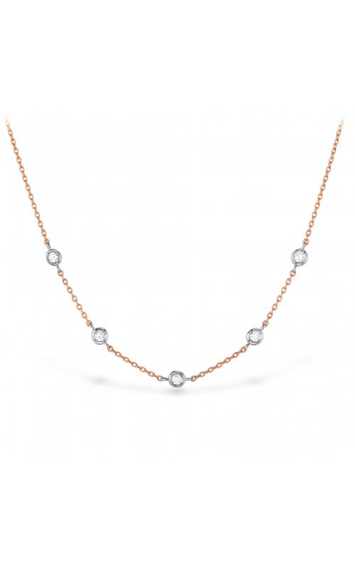 HOF Signature Off-set Five Bezel Necklace HFN5BEZ0088RP product image