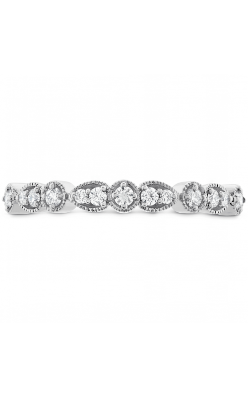 Isabelle Teardrop Milgrain Diamond Band product image