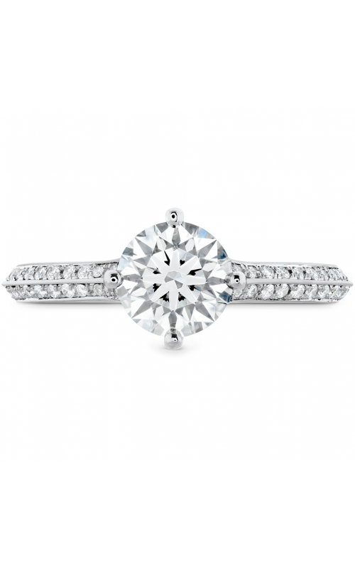 Camilla Pave Knife Edge Engagement Ring product image
