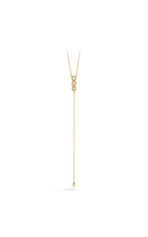 Liliana Milgrain Diamond Lariat Necklace product image