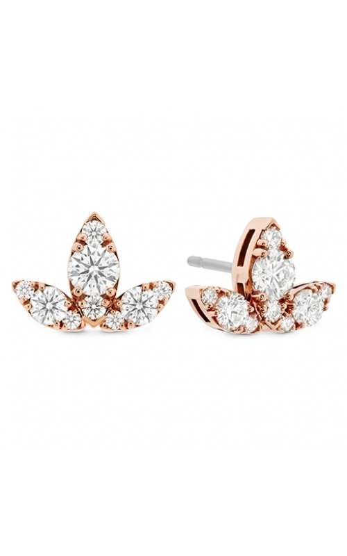 Aerial Triple Diamond Stud Earrings - L product image