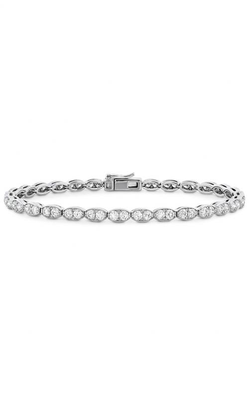 Lorelei Floral Diamond Line Bracelet - L product image