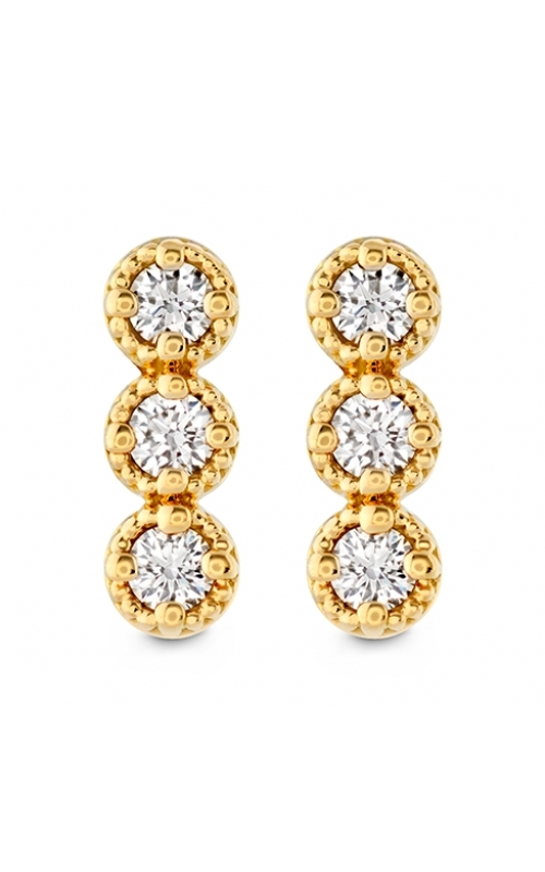 Liliana Milgrain Diamond Bar Earrings product image
