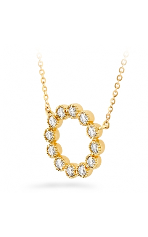 Liliana Milgrain Diamond Circle Pendant product image
