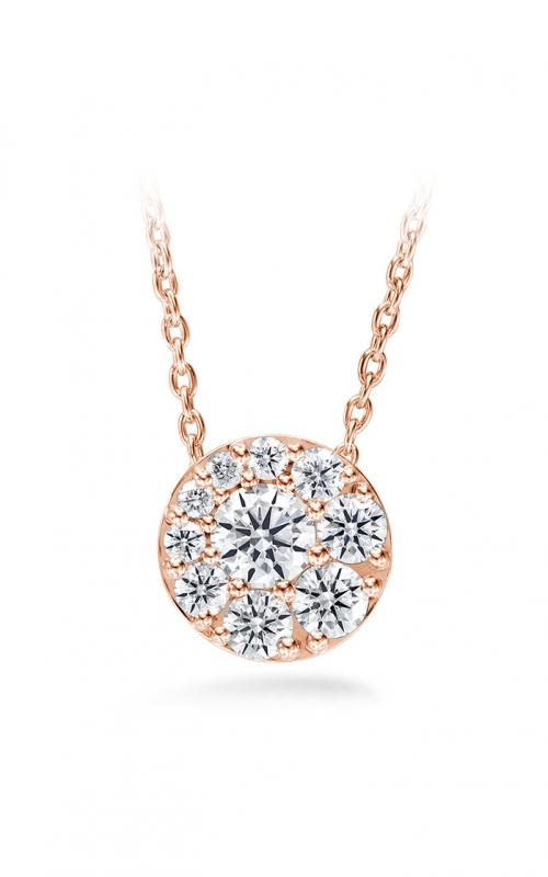 0.25 ctw. Tessa Diamond Circle Pendant in 18K Rose Gold product image