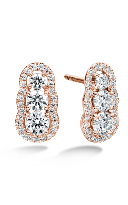 1.27 ctw. Aurora  Earrings in 18K Rose Gold product image