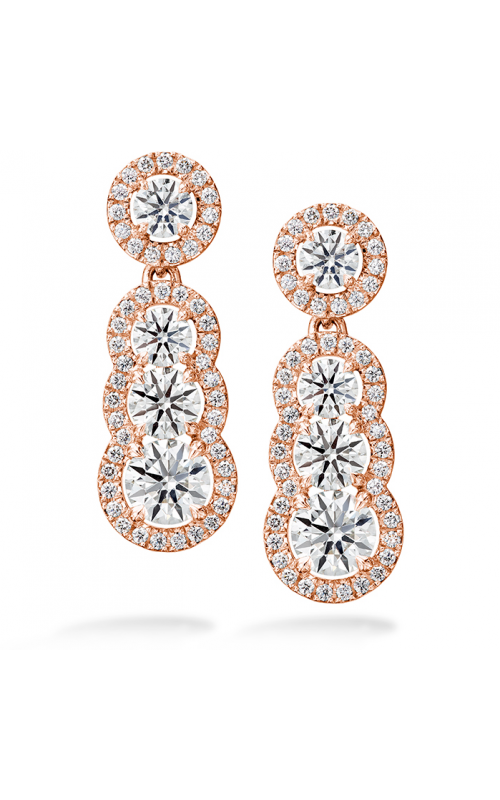 2.81 ctw. Aurora Drop Earrings in 18K Rose Gold product image