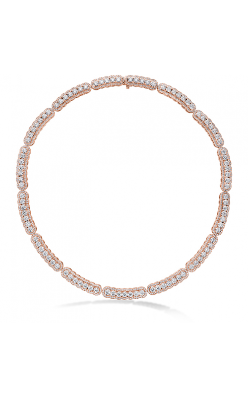 20.21 ctw. Aurora Line Necklace in 18K Rose Gold product image