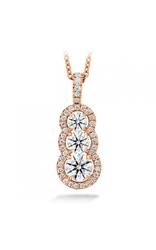 1.07 ctw. Aurora Pendant - Large in 18K Rose Gold product image