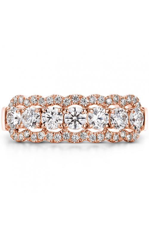 0.94 ctw. Aurora Seven Diamond Band in 18K Rose Gold product image