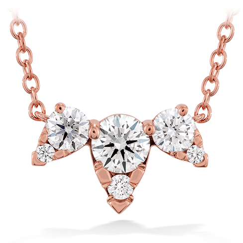 Aerial Triple Diamond Necklace product image