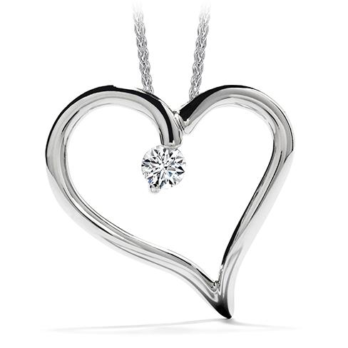 Amorous Heart Pendant Necklace product image