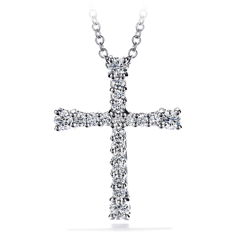 Divine Cross Pendant Necklace product image