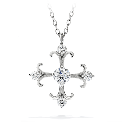Fairy Tale Cross Pendant Necklace product image