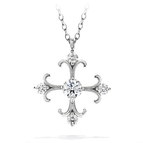 Fairy Tale Cross Pendant Necklace product image