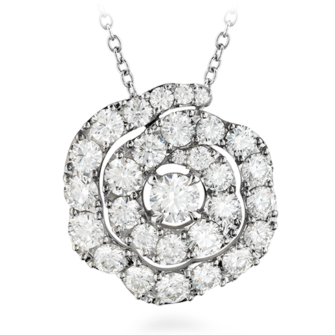 Lorelei Diamond Floral Pendant product image