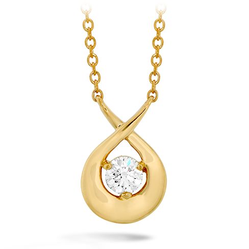Optima Single Diamond Pendant product image