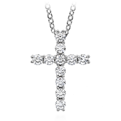 Whimsical cross pendant necklace aloadofball Choice Image