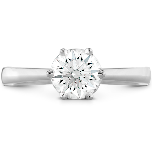 HOF Signature 6 Prong Solitaire Engagement Ring product image