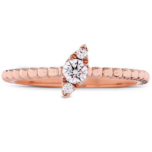 Aerial Beaded Stackable Band - Regal Angle product image